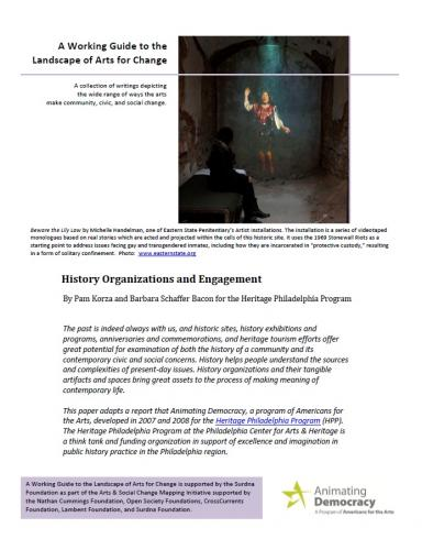 History Organizations and Engagement Trend Paper Cover