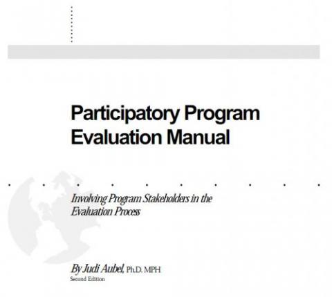 Participatory Program Evaluation Manual Involving Program